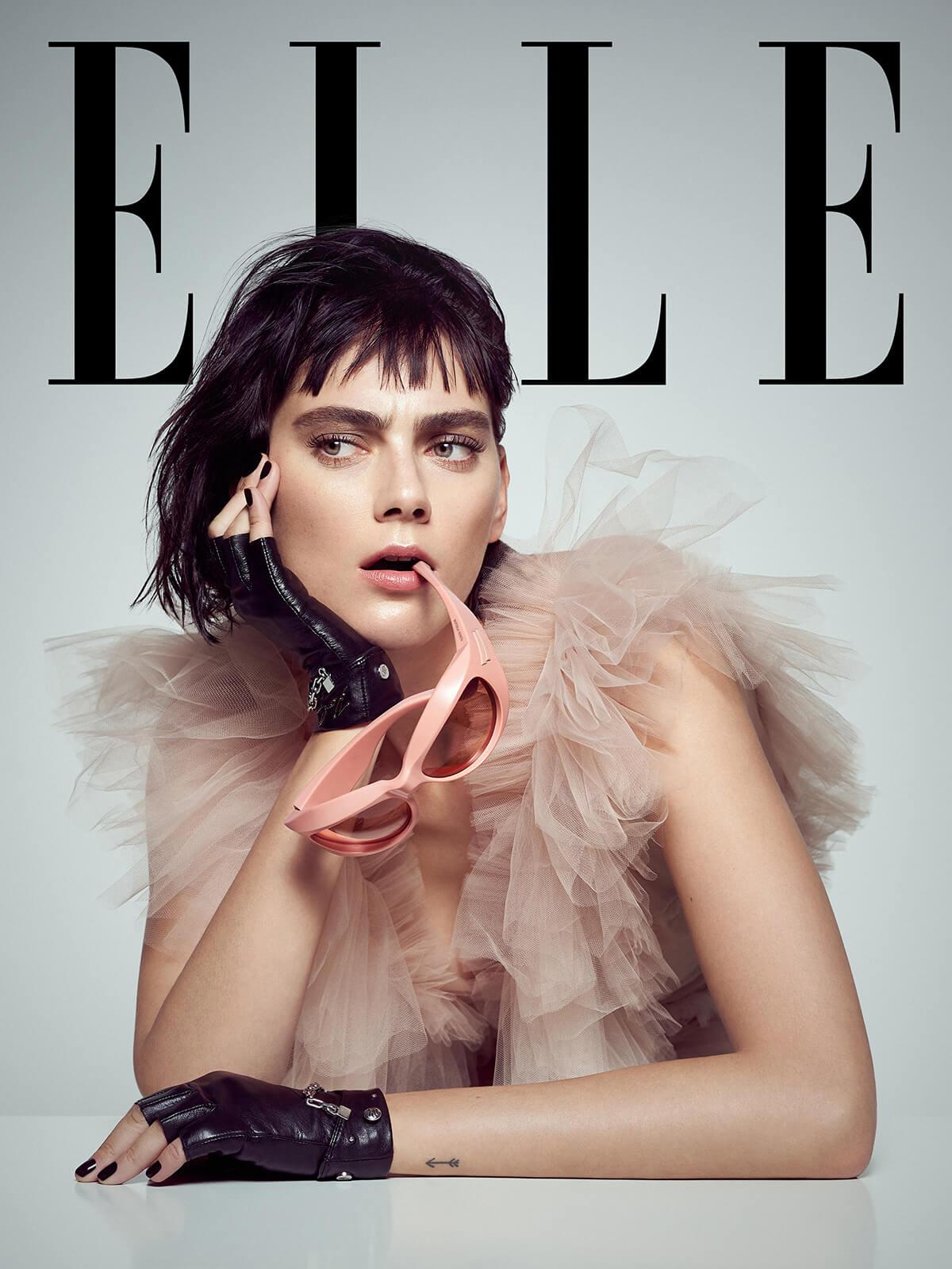 Beauty Editorial Elle Croatia Christiane Baumgart Photography Agnes Sokolowska