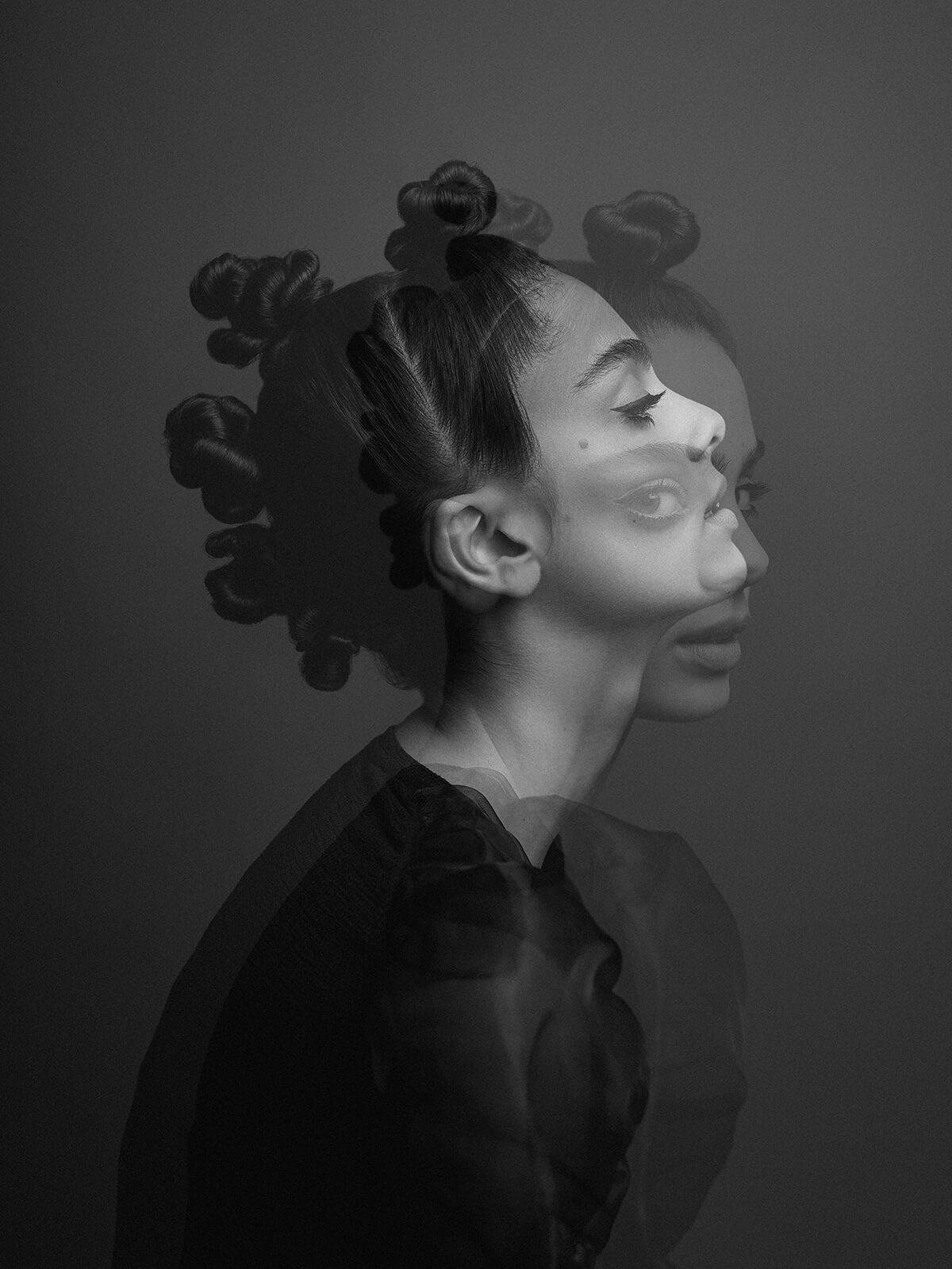 Modefotograf Frankfurt Haireditorial Eastwestmodels Haya Magazine Dubai