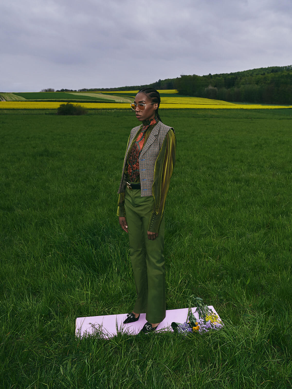 Marie Claire Ukraine Magazine Fashioneditorial Irene Opoku Christiane Baumgart Photography